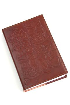Shoptiques Product: Leather Owl Journal