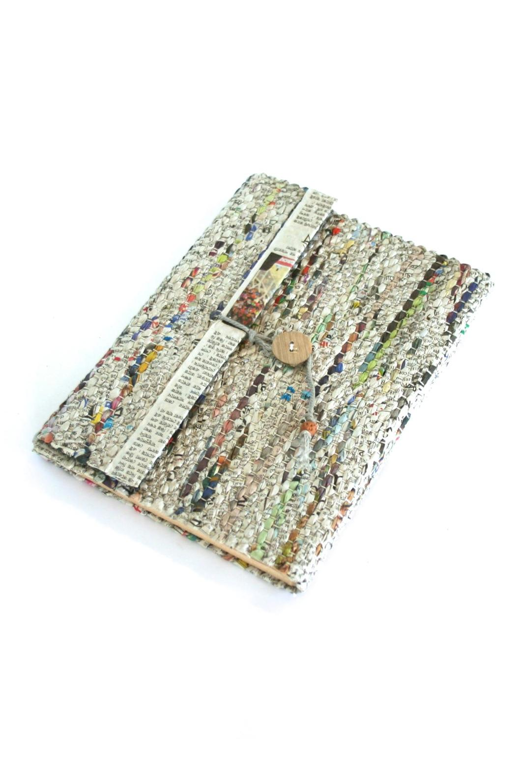 Fair & Square Imports Recycled Newspaper Journal - Main Image