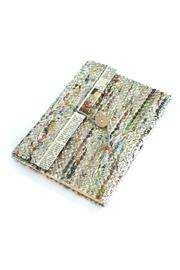 Fair & Square Imports Recycled Newspaper Journal - Front cropped