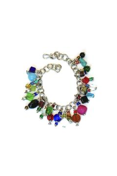 Shoptiques Product: Silverplated Charm Bracelet