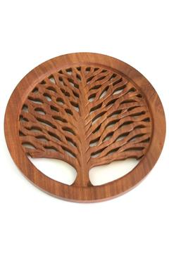 Shoptiques Product: Wooden Trivet