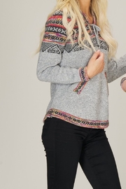 Papillon Fairisle Print Pullover - Product Mini Image