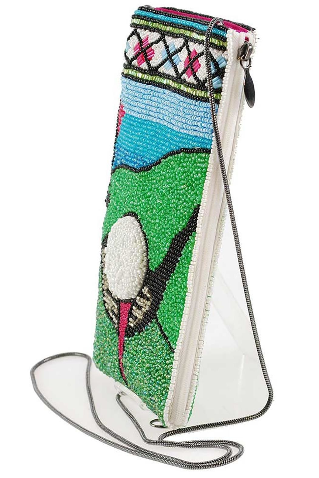 Mary Frances Fairway Golf Phone-Bag - Back Cropped Image