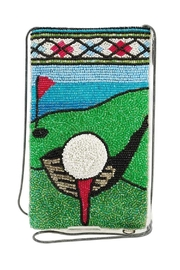 Mary Frances Fairway Golf Phone-Bag - Front cropped