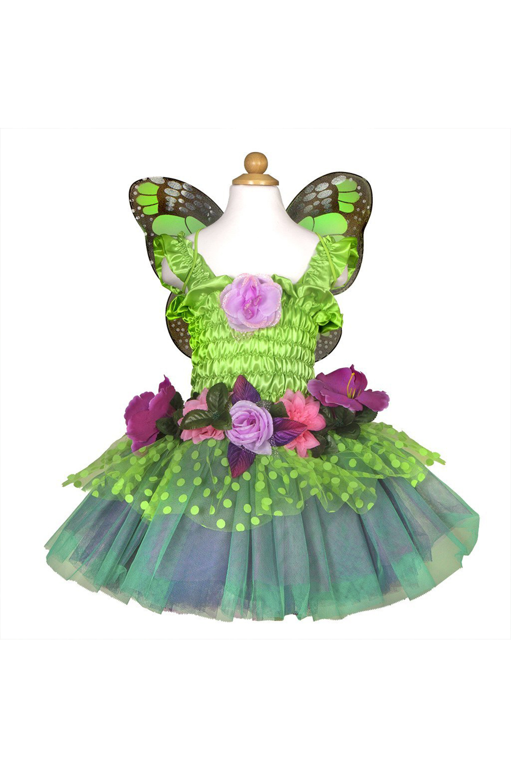 Great Pretenders  Fairy Blooms Deluxe Dress - Front Full Image