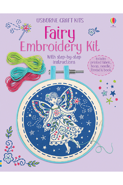 Shoptiques Product: Fairy Embroidery Kit