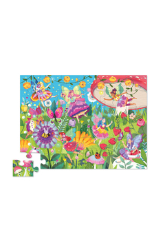 Crocodile Creek Fairy Garden Canister 24 Piece Puzzle - Alternate List Image