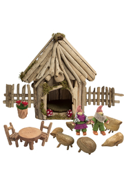 Papoose Toys Fairy House Set - Front cropped