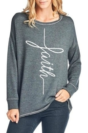 Zutter Faith Graphic Top - Product Mini Image