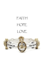 Something Special Faith-Hope-Love Bracelet - Product Mini Image