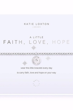 Katie Loxton Faith, Love, Hope Bracelet - Product List Image