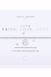 Katie Loxton Faith, Love, Hope Bracelet - Product Mini Image