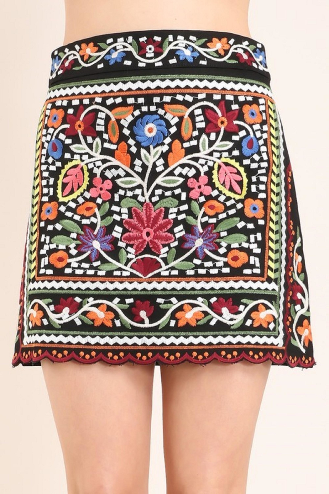 Faith Apparel The Jinna Skirt - Front Cropped Image