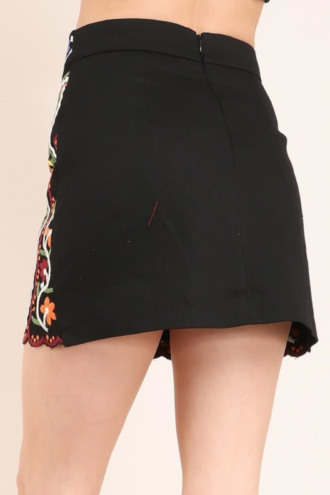 Faith Apparel The Jinna Skirt - Side Cropped Image