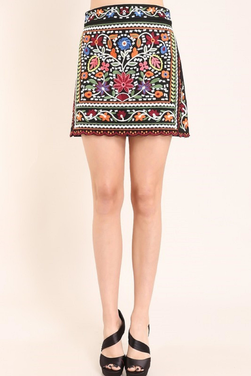 Faith Apparel The Jinna Skirt - Back Cropped Image
