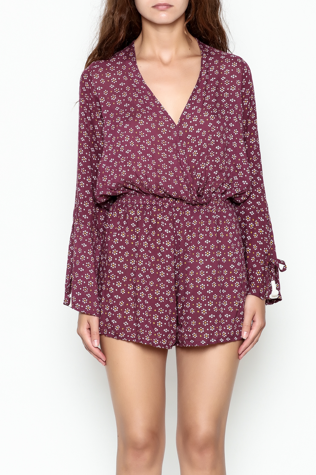 Faithfull Sublime Playsuit - Front Cropped Image