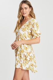 Faithfull The Brand Anina Dress Goldie - Side cropped