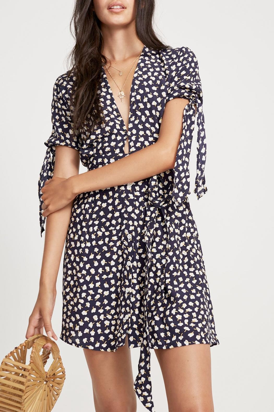 Faithfull The Brand Birgit Floral Dress - Front Full Image