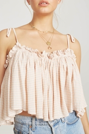Faithfull The Brand Chania Flowy Crop - Product Mini Image