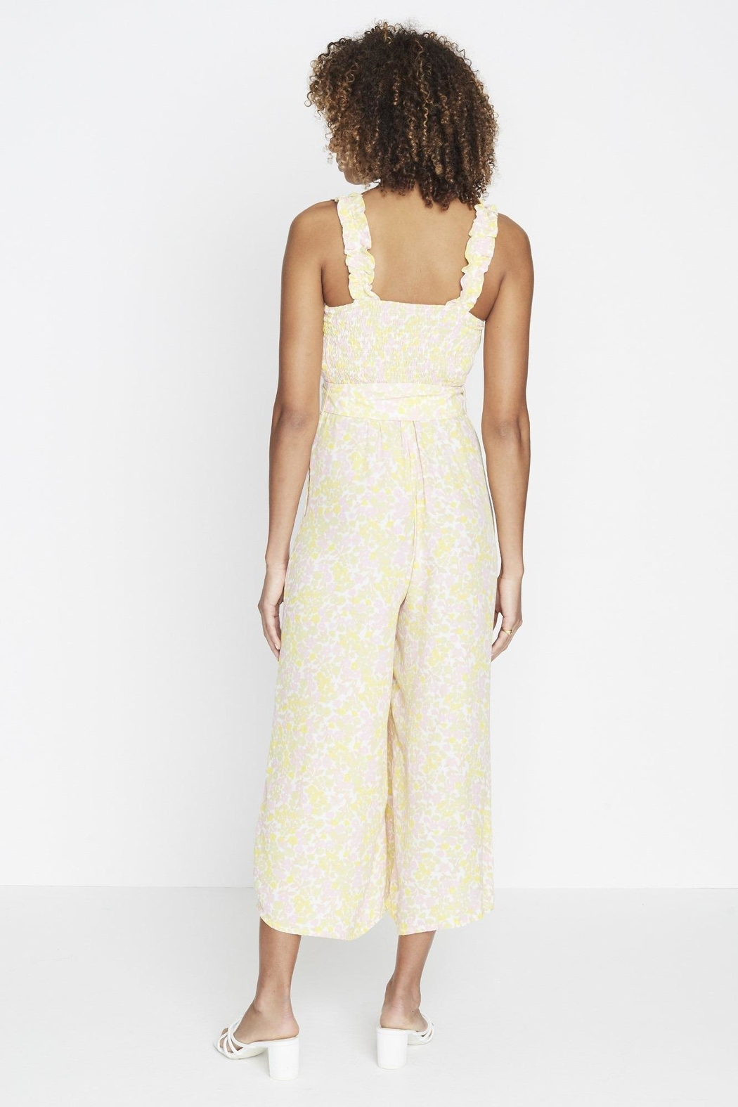 Faithfull The Brand Dolores Jumpsuit - Front Full Image