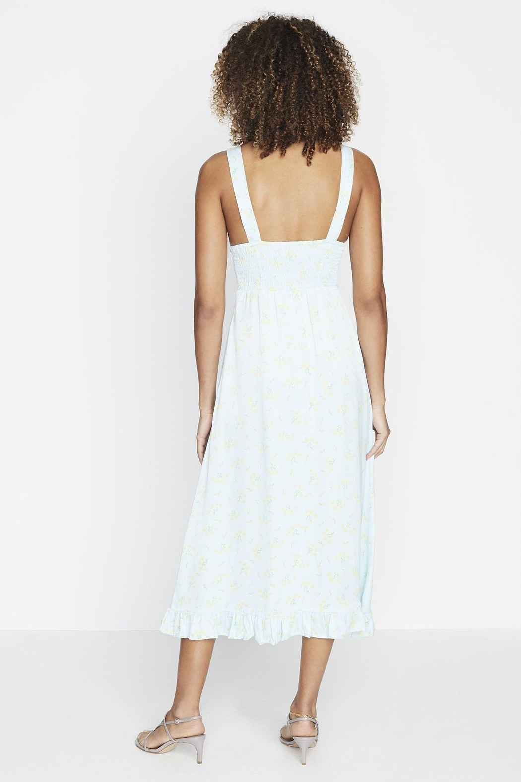 Faithfull The Brand Emili Sun Dress - Front Full Image