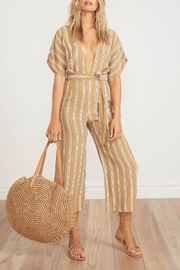 Faithfull The Brand Flared Striped Jumpsuit - Product Mini Image