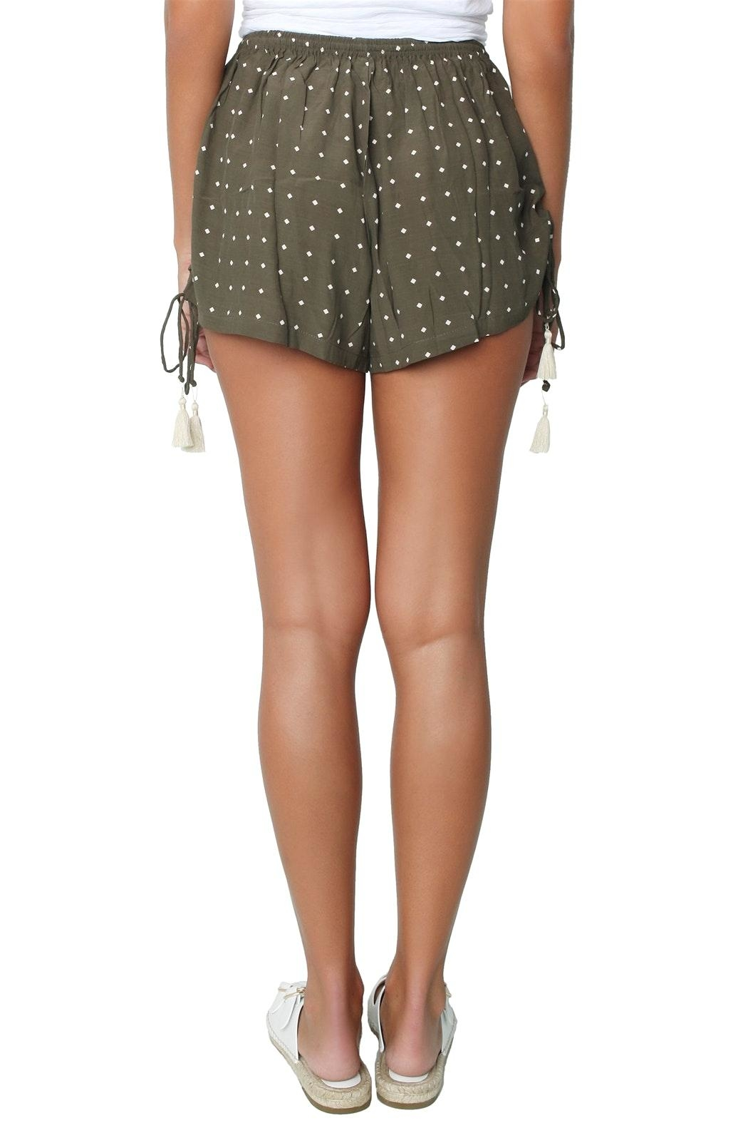Faithfull The Brand Gypsy Shorts - Back Cropped Image