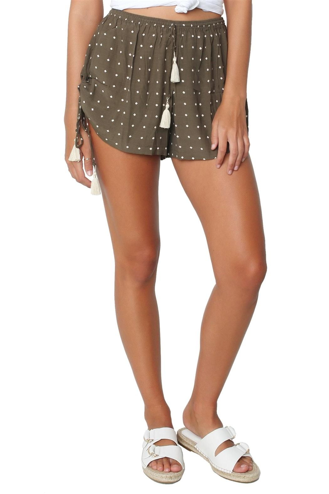 Faithfull The Brand Gypsy Shorts - Front Cropped Image