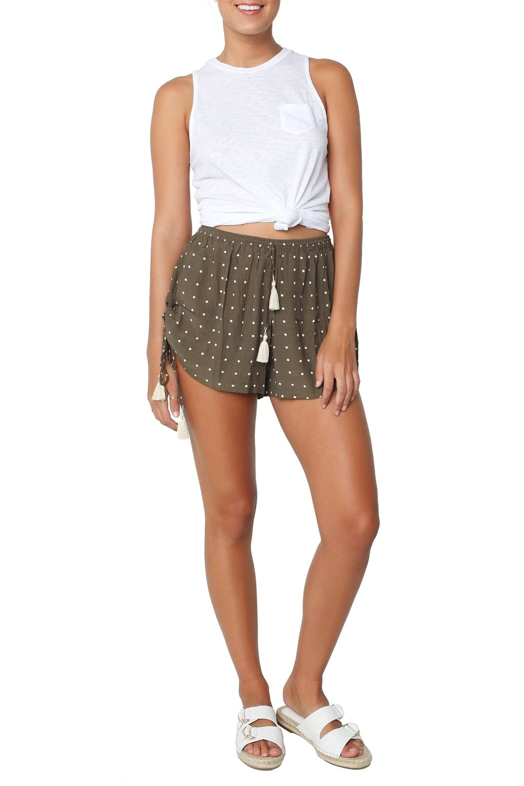 Faithfull The Brand Gypsy Shorts - Front Full Image