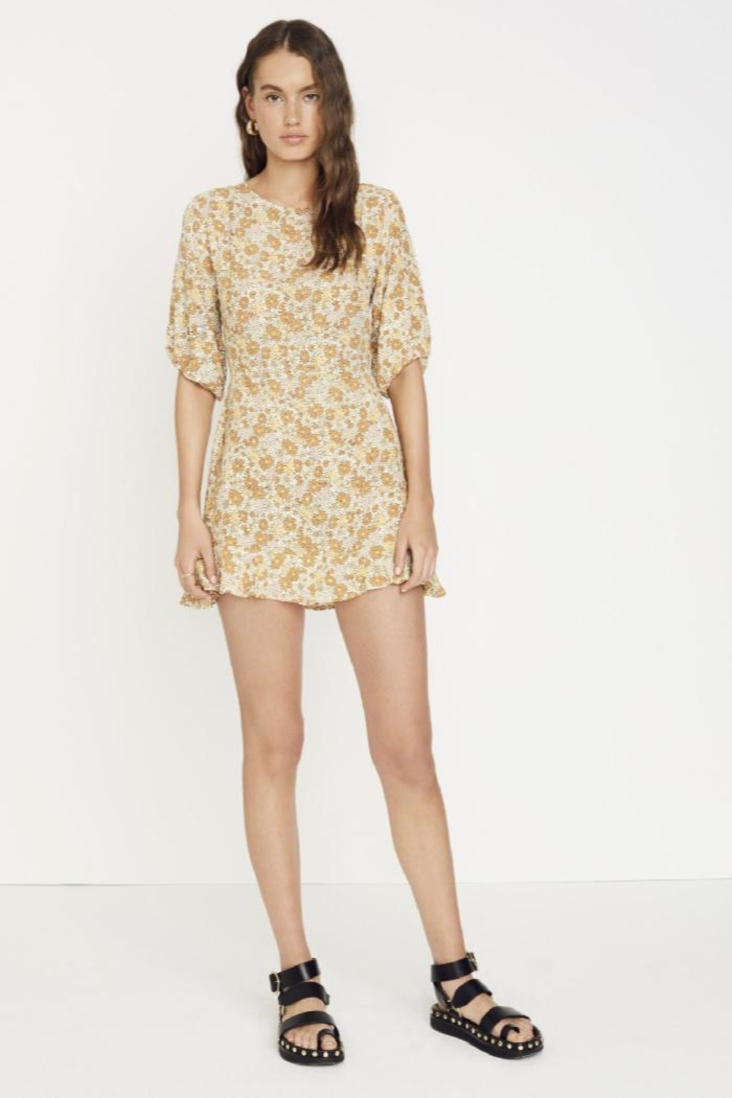 Faithfull The Brand Jeanette Dress Zoella - Front Cropped Image