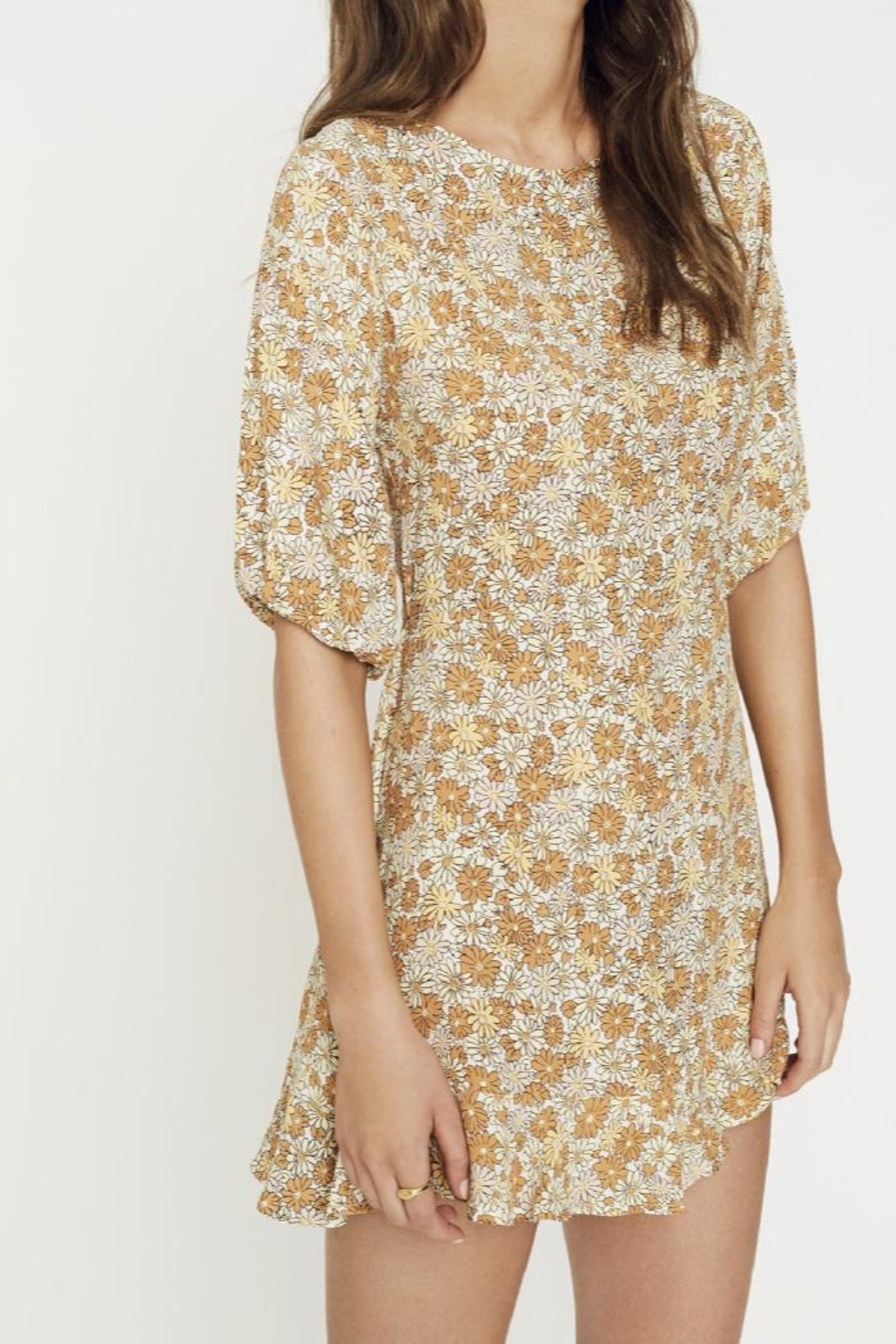 Faithfull The Brand Jeanette Dress Zoella - Side Cropped Image