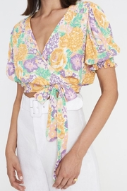 Faithfull The Brand La Colle Top In Ade Floral - Product Mini Image