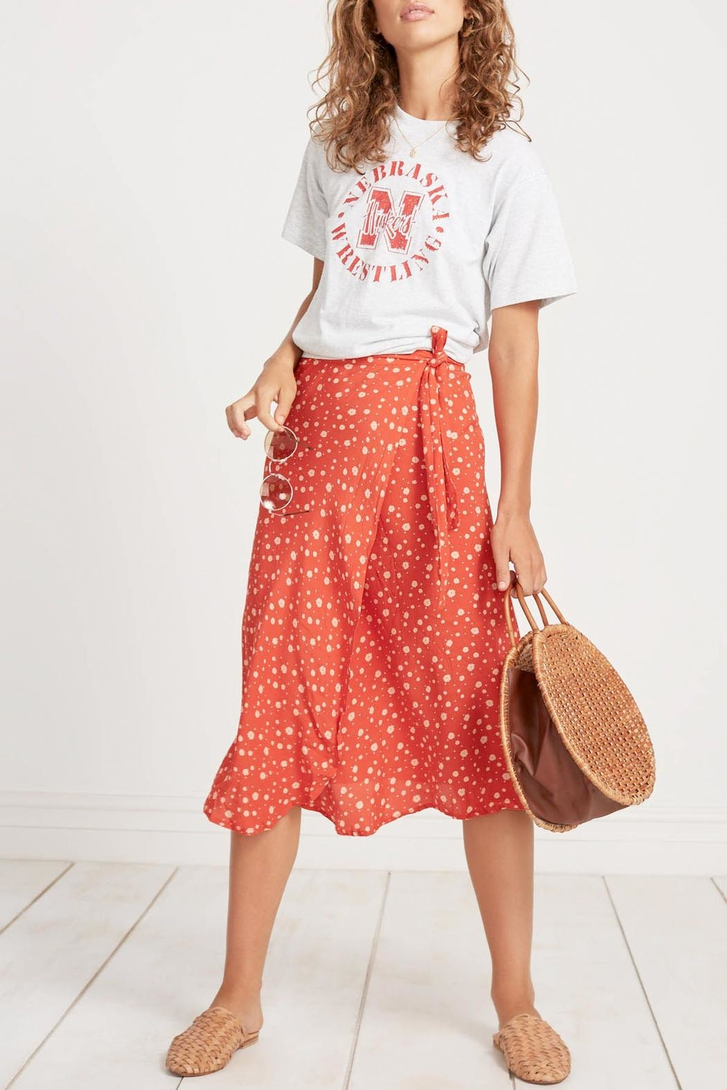 Faithfull The Brand Linnie Midi Skirt - Main Image