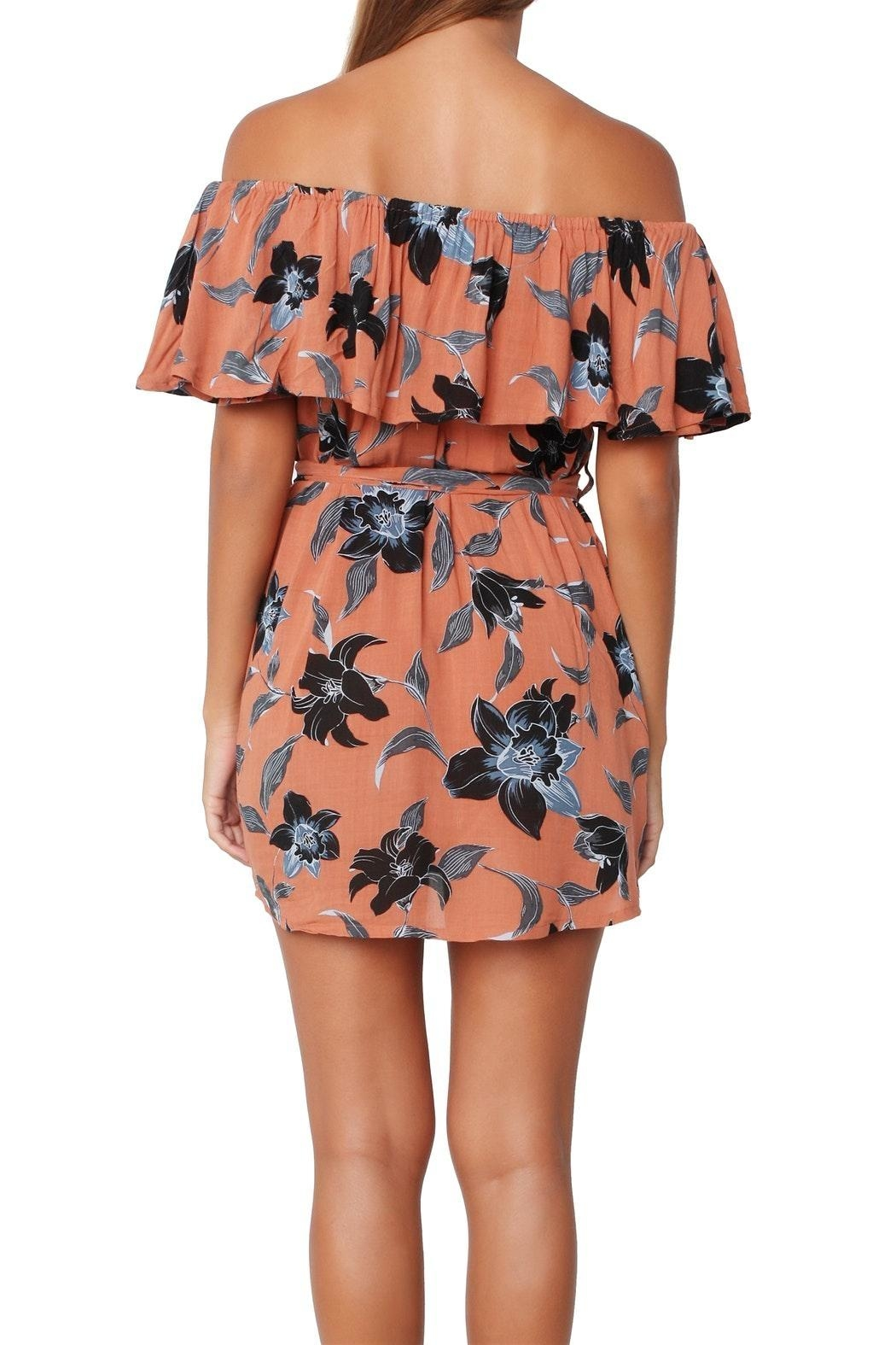 Faithfull The Brand Maldives Floral Dress - Front Full Image