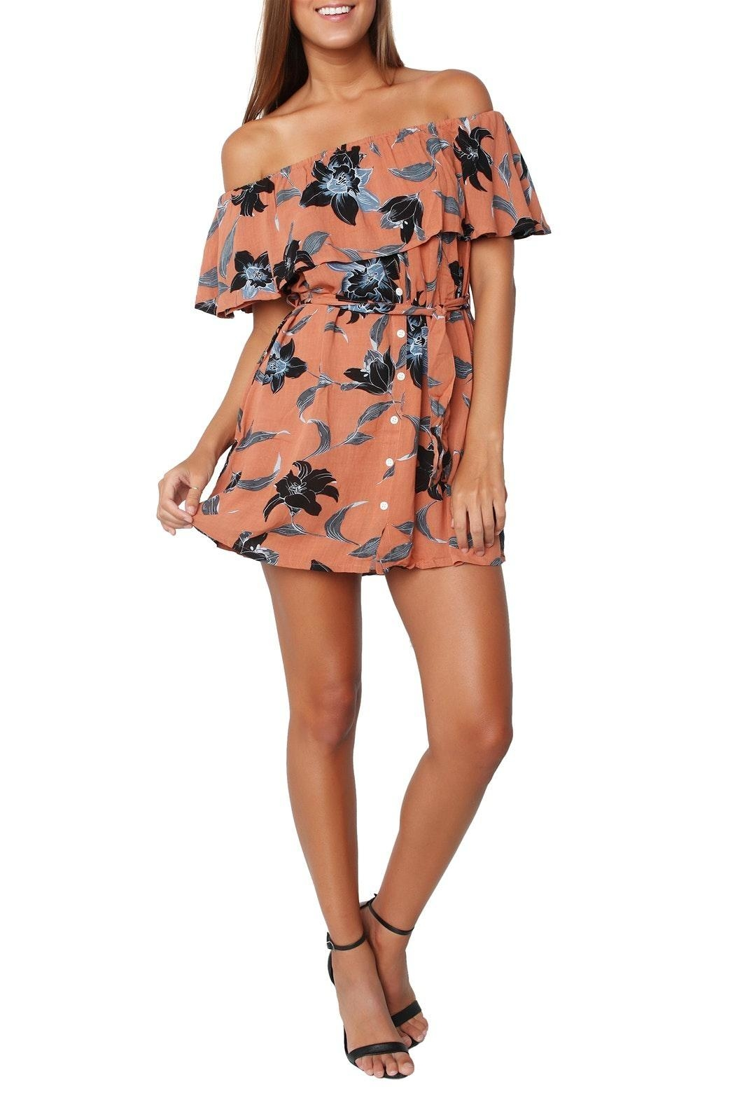 Faithfull The Brand Maldives Floral Dress - Main Image