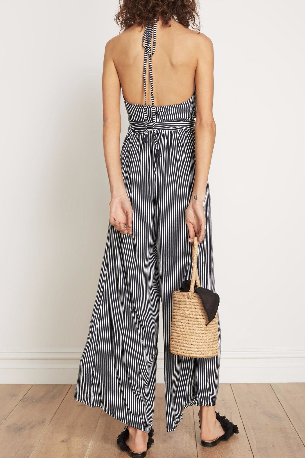 807857841cc7 Faithfull The Brand Riley Striped Jumpsuit from Los Angeles by Tags ...