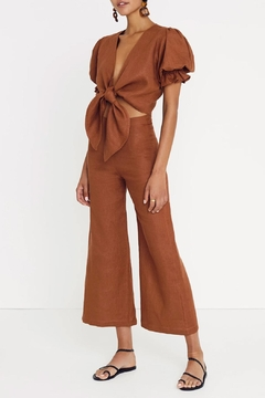 Faithfull The Brand Scelsi Wide Pant - Product List Image
