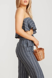 Faithfull The Brand Tiered Tube Crop - Back cropped