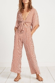 Faithfull The Brand Tilos Stripe Jumpsuit - Product Mini Image