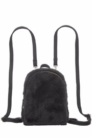 Girly Faux Fur Backpack - Front cropped