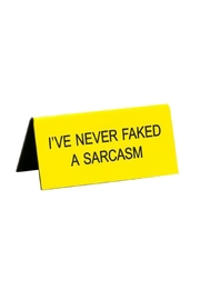 About Face Designs Faked Sarcasm - Product Mini Image