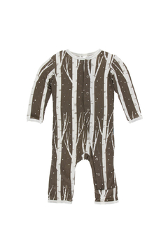 Shoptiques Product: Falcon Snow Print Coverall With Zipper