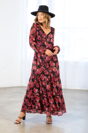 Lovestitch Fall Bloom Dress - Front cropped