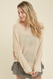 Wishlist Fall Breeze Sweater - Front cropped