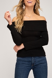 She + Sky Fall Diva Top - Front cropped
