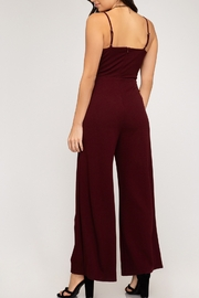 She + Sky Fall Fab Jumpsuit - Front full body