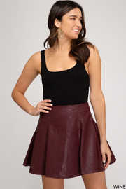 She and Sky Fall Fabulous Skirt - Front cropped