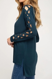 She + Sky Fall Fave Sweater - Front full body