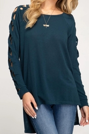 She + Sky Fall Fave Sweater - Product Mini Image