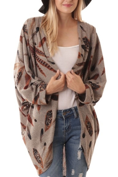 Shoptiques Product: Fall Feathers cardigan